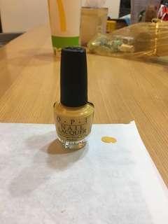 🚚 OPI黃色指甲油(華盛頓系列)