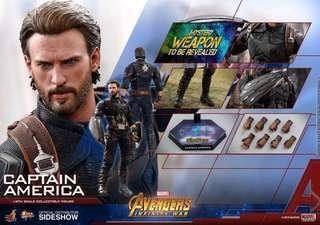 Hottoys Captain America infinity war 美國隊長 無限之戰 marvel
