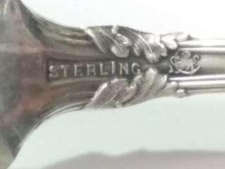 US Antique 1880 Sterling Silver Spoon, 21.4g, 13.9cm Length, FRANK W. SMITH SILVER CO INC, 美國古董純銀匙/勺 www.silvercollection.it/AMERICANSILVERMARKSSDUE.html    ringo77511@yahoo.com