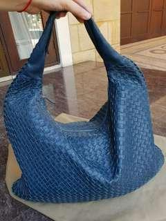Bottega veneta large blue authentic