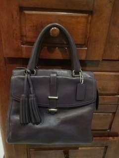 AUTHENTIC COACH LEGACY NORTH SOUTH SATCHEL