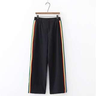 Side Color Trousers