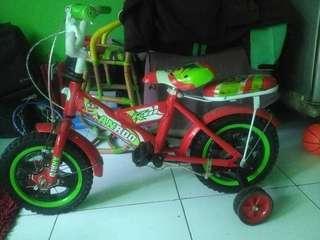 Sepeda anak ukuruan 12,dar baru gak dipake