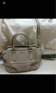 Reduced! Authentic Max Mara leather bag