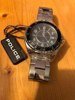 Police Watch 全新 男裝 手錶