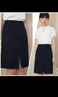 Bridge Channing A Line Skirt