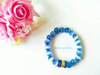 #PRECNY60 🔵Cat Eyes Stone Beaded Bracelet