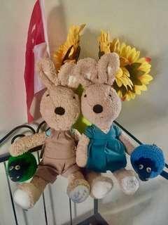🚚 Lovely Rabbits doll