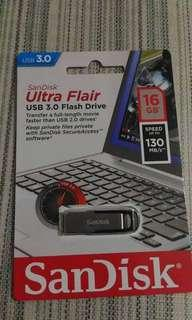 Repriced USB Flash Drive 16 Gb- Sandisk Ultra Flair