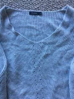 Knit jersey oversized