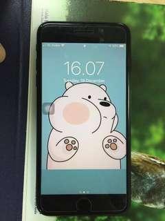 Iphone 7+ 128GB BLACKMATE