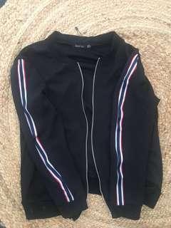 boohoo zip up jacket