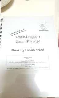 Sec 1 Express English Exam Package