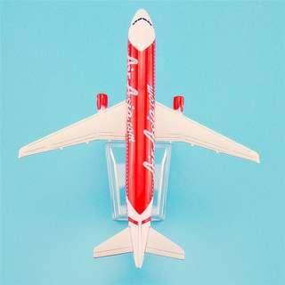 (Free Postage)Air Asia plane Model