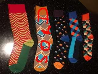 Colourful n fun socks for gifts