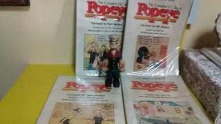 Vintage Popeye collection