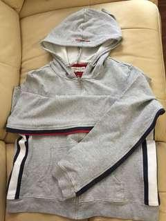 Tommy Girl 灰色classic hoody