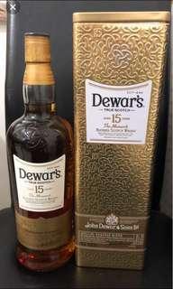 Dewar's 15yrs Scotch Whisky (1L)