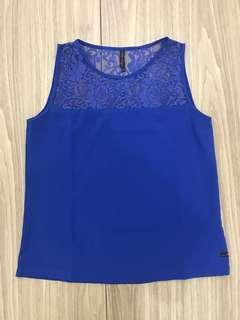 Bayo blue top