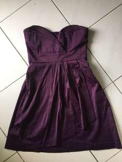 Preloved purple dinner dress