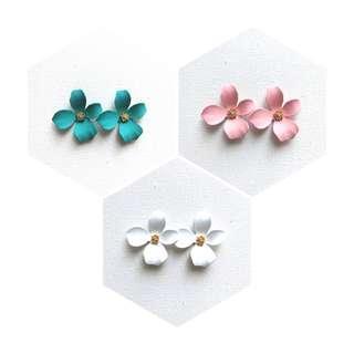 Fancy Flower Earrings