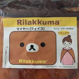 🈹購自日本🇯🇵Rilakkuma 鬆弛熊毛毯