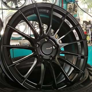 "RS05 18"" Matt Black 5X114.3 (REP)"