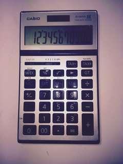 CASIO ELECTRONIC CALCULATOR JS-120TVS 12 DIGITS TWO POWER