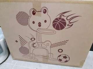 青蛙籃球架