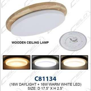 16W LED CEILING LIGHT WITH 3 TONE LIGHT