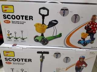 三合一滑板車