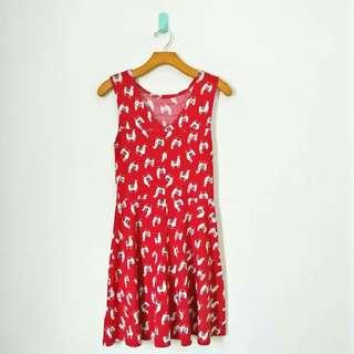 Red Camel Dress