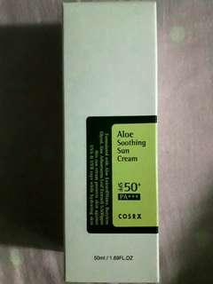 COSRX Aloe Soothing Sun Cream SPF 50