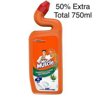 Mr Muscle 750ml Pine Toilet Cleaner