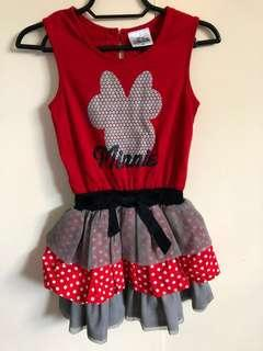 Minnie Mouse dress & jumpsuits