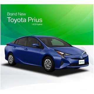 Brand New Toyota Prius Hybrid 1.8 S
