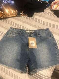 Country road vintage denim short shorts 8 BNWT