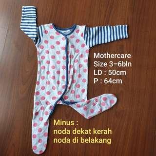 PRELOVED sleepsuit baju tidur jumper mothercare