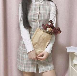 粉紅蛋糕 Twice sana 同款打歌連身裙