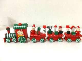 🚚 NEW Wooden Train Christmas Decoration