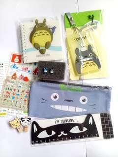 ✨ Totoro Bundle Giveaways Grey