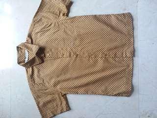 Batik Keris boy 4-6 years size M