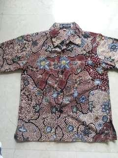 Batik Alya shirt 4-6 years sizeM
