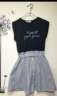 🚚 全新 無袖連身裙 可換物