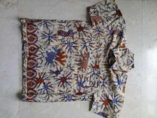 Batik shirt 4-6 years