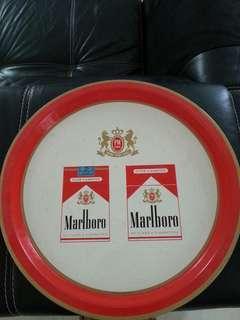 Vintage England Made Cigarette Advertising Metal Tray