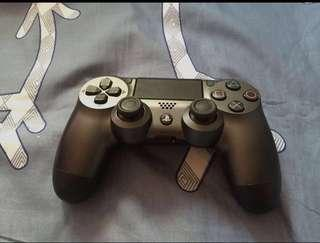 Steel Black PS4 controller