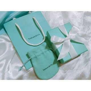 🚚 Tiffany & Co. 原廠專櫃包裝紙盒紙袋 禮品組 絨布袋 防塵袋