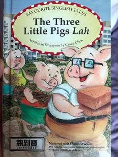 The three little pigs lah (singlish version)