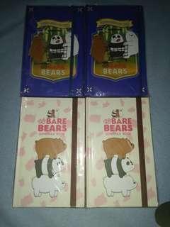 We Bare Bears Schedule Book/Journal